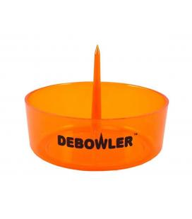 Debowler Ashtray w/Cleaning Spike - Amber