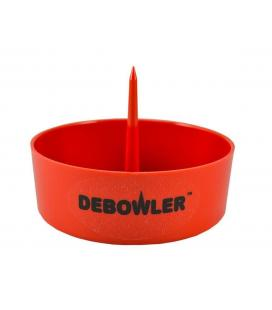 Debowler Ashtray w/Cleaning Spike - red