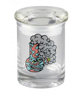"420 Science Killer Acid Water Pipe Pop Top Jar - 3.25"" / XS"