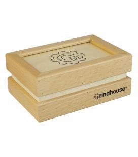 Sifter Box stile grindhouse con cassetto piccolo -12,7x17,78cm / faggio