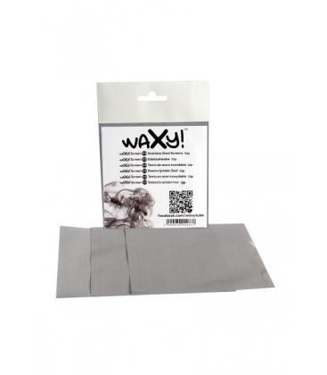 'Waxy! X3' Stainless Steel Screens