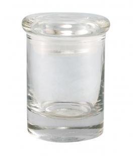 Plain Glass Jar By Cannaline