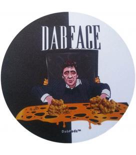 Round DabPadz Dab Mat 20,5cm / DabFace