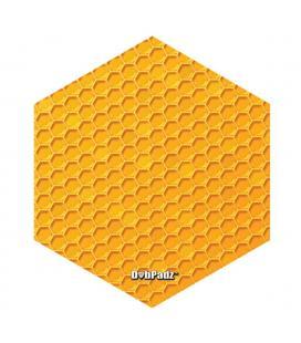 "DabPadz Die Cut Dab Mat - 8"" | Honeycomb Hex"
