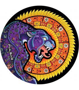 Pulsar DabPadz Round Dab Mat | Psychedelic Octopus