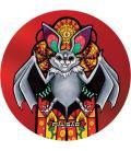 Pulsar DabPadz Round Dab Mat |Psychedelic Jungle Bat