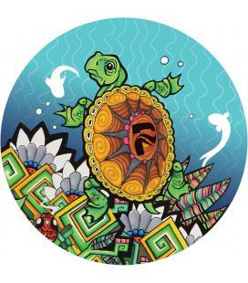 Pulsar DabPadz Round Dab Mat |Turtle