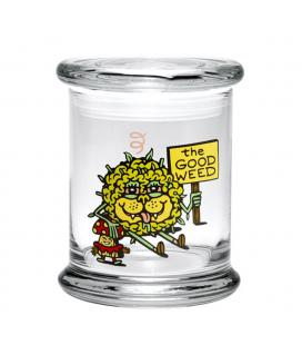 420 Science The Good Weed Pop-Top Jar XS (8,25cm)