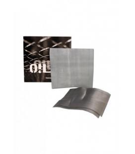Retine in acciaio inossidabile 'Oil Black Leaf'