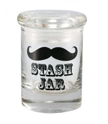 Cannaline Stash Jar - Mustache / 1/4oz