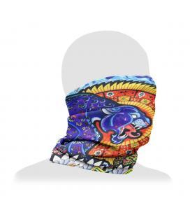 Pulsar Neck/Face Gaiter | Psychedelic Jaguar