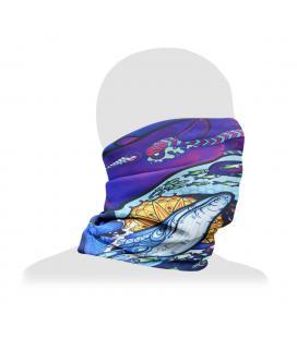 Pulsar Neck/Face Gaiter | Psychedelic Ocean