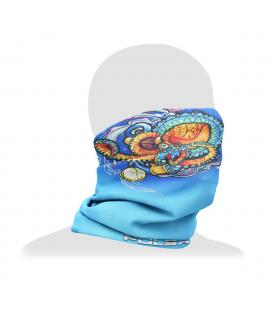Pulsar Neck/Face Gaiter | Psychedelic Octopus