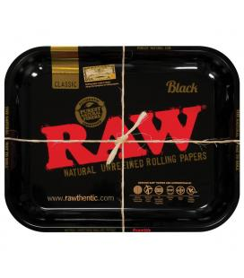 RAW Steel Rolling Tray Black
