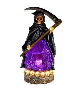 """Reaper w/ LED Lights Backflow Incense Burner - 10.25"""""""