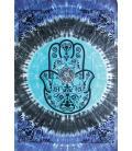 "Hamsa Hand Tapestry - 55""X85"""