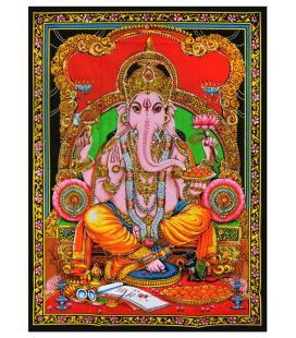 "Ganesh Tapestry - 30""x40"""