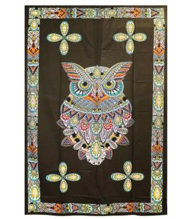 "Owl Tapestry - 54""x86"""