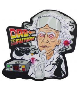 "DabPadz Die Cut Dab Mat - 10"" | Dab to the Future"
