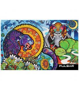 Pulsar DabPadz Dab Mat | Psychedelic Jungle