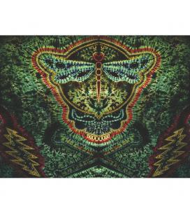 "Jolly Dragonfly Tapestry - 60""x72"""
