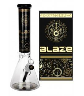 'Blaze' 'Alchemie' Flask Bong Ice