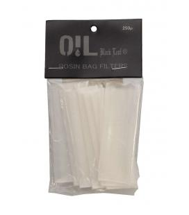 'Oil Black Leaf' 'Rosin Bag' Filter Bags 250µm S-M 80x30mm