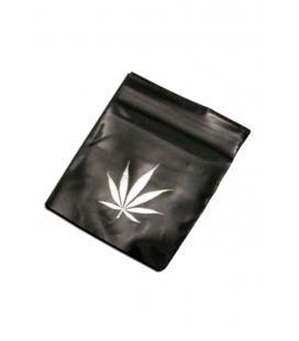 'Black Leaf' Zip Bags 40x60mm 50µ 100pcs