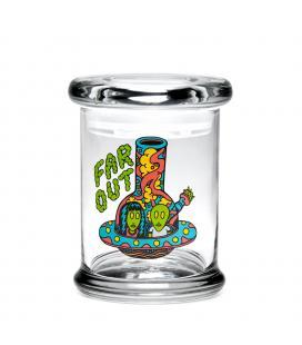 420 Science Killer Acid Far Out Pop Top Jar XS (8,25cm)