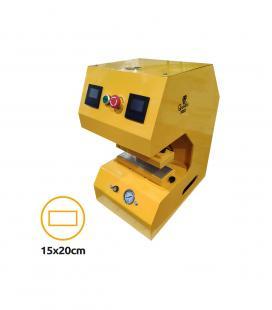 Rosin Press Qnubu AUTO LION 20 Tons (Plates 15X20cm)