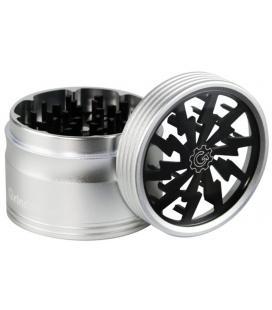 Grindhouse High Voltage 4pcs Grinder |silver