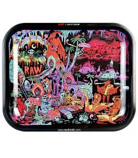 RAW x Ghostshrimp Artist Series 2 Metal Rolling Tray