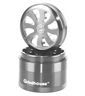 Grindhouse Turbine 4pcs Grinder |silver