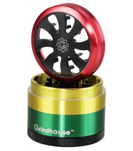 Grindhouse Turbine 4pcs Grinder |rasta