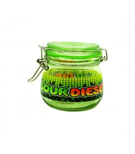 Dank Tank Airtight Glass Storage Jar   Sour Diesel