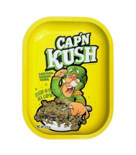KYC Rolling Tray 14x18cm | Cap 'N' Kush