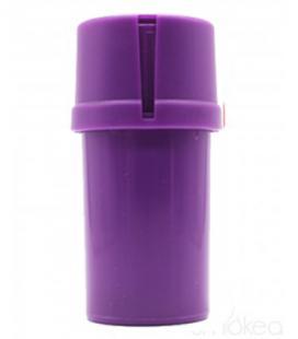 Medtainer purple transparent