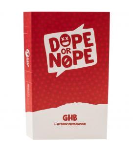 GHB test - Dope or Nope