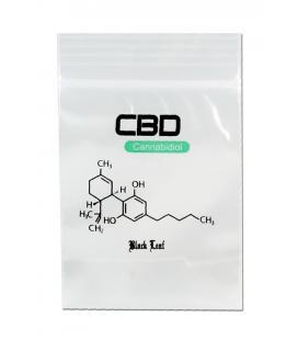 'CBD' Zip Bags 40x60mm 100pcs
