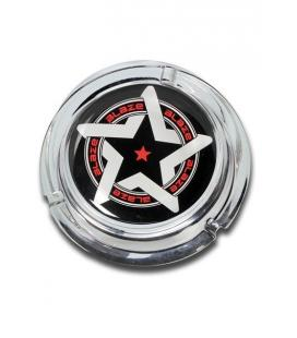 Glass Ashtray 'Blaze' design 55x160mm